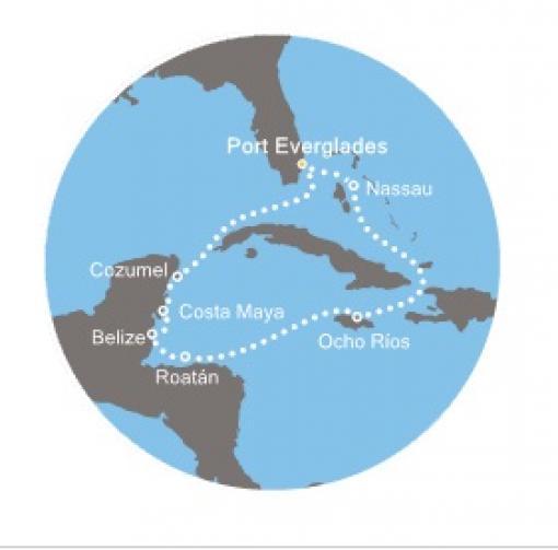 Crucero bahamas jamaica honduras belice mxico desde fort el crucero incluye gumiabroncs Image collections