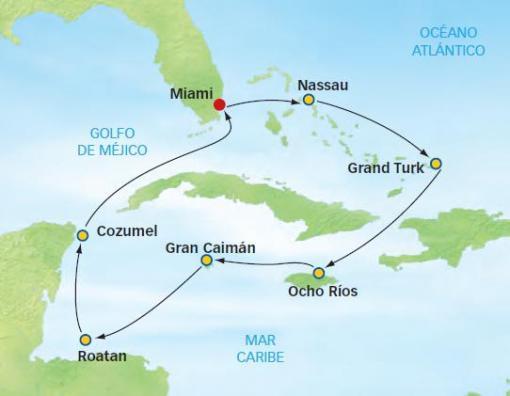 Crucero caribe mgico bahamas jamaica honduras y mexico desde el crucero incluye gumiabroncs Gallery