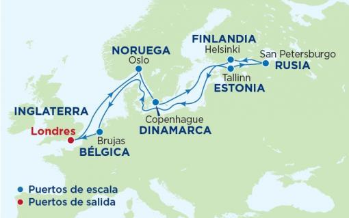 cruceros capitales balticas