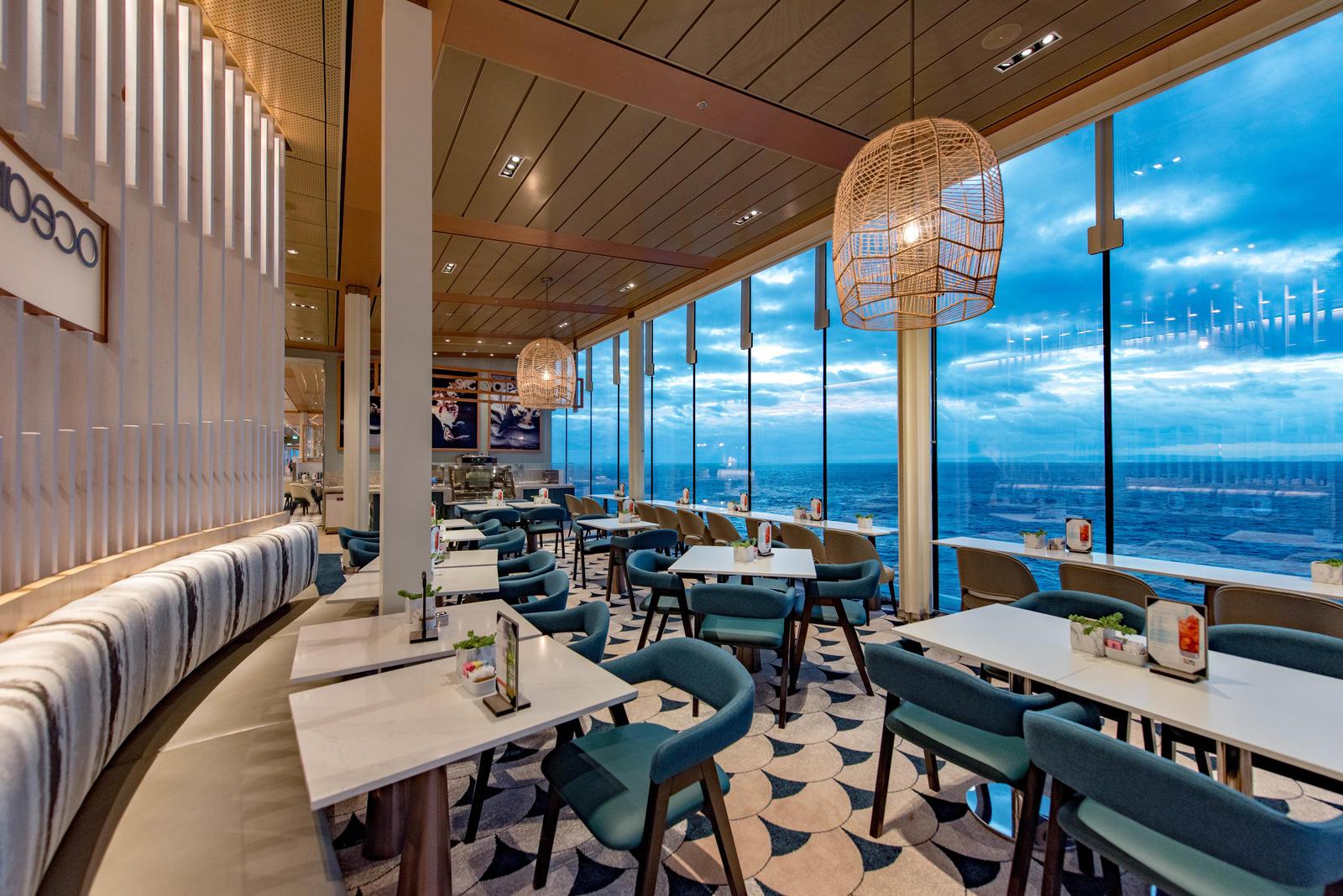 CELEBRITY EDGE CELEBRITY CRUISES NEW SHIP NUEVO BARCO CELEBRITY CRUISES CELEBRITY EDGE PREMIUM CRUISES CRUCEROS CELEBRITY EDGE #CelebrityCruises #CelebrityEdge #CrucerosCelebrity #OceanviewCafe #BuffetCelebrityEdge