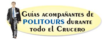 POLITOURS CRUCEROS FLUVIALES EN ESPAÑOL POLITOURS RIVER CRUISES
