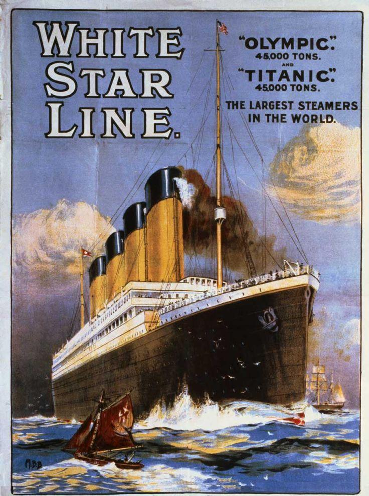 WHITE STAR LINE CRUCERO DE LUJO LUXURY SHIPS STEAM SHIPS