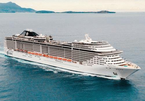 Un gran barco de Crucero diseñado para ofrecerle las mejores vacaciones a bordo