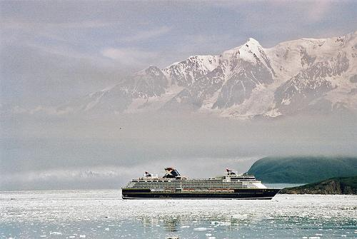 El Celebrity Summit en Glaciar Bay (Alaska)