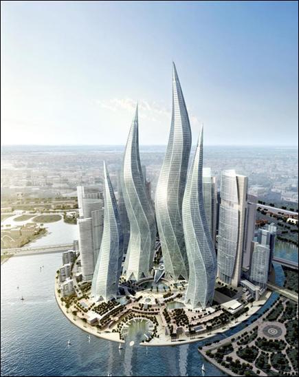 Arquitectura en Dubai es asi