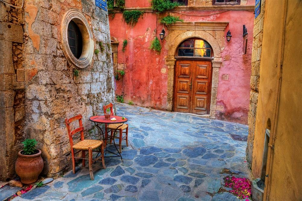 Crucero islas griegas y estambul desde atenas lavrio Casas griegas antiguas